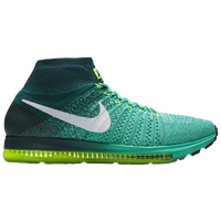 Nike Performance Zoom All Out Flyknit Neutral Running Shoes Clear JadeWhiteMidnight Turquoise  Rh