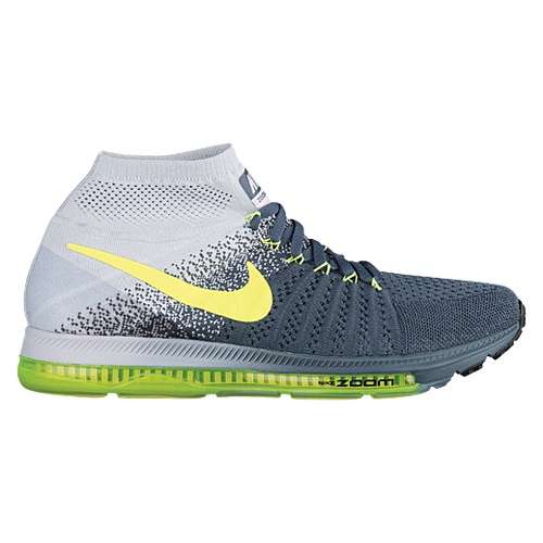 Nike Zoom All Out Flyknit - Men's - Running - Shoes - Blue Fox/Pure  Platinum/Black/Volt