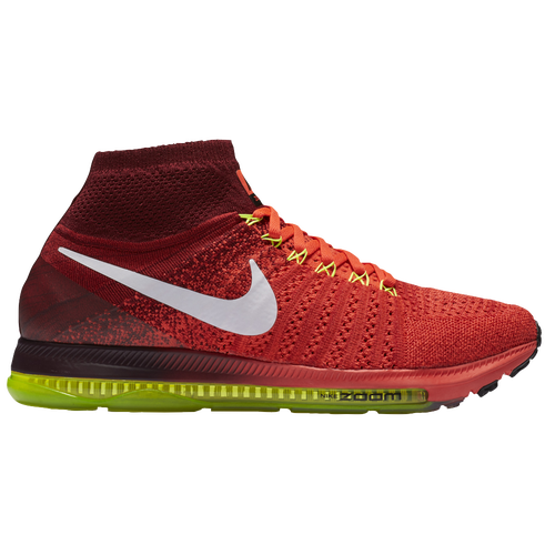 Nike Performance Zoom All Out Flyknit Neutral Running Shoes Bright CrimsonWhiteTeam RedVolt  Xr2