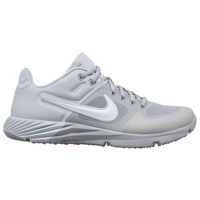 Nike Alpha Huarache Elite 2 Turf - Women's - White / Grey