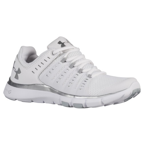 Under Armour Micro G Limitless TR 2 - Women s - Training - Shoes -  White White Metallic Silver 20b9abc3d5
