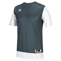 adidas Team Crazy Explosive Shooting Shirt - Men's - Grey / White
