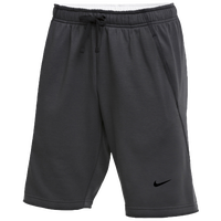 Nike Team Flux Shorts - Men's - Grey / Grey