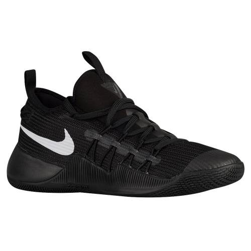 nike hypershift mens basketball shoes black white