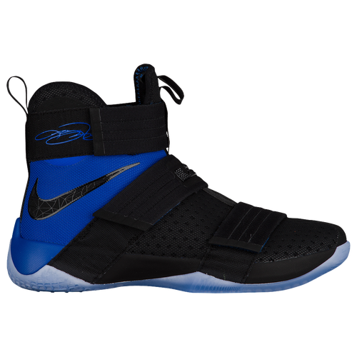 Nike LeBron Soldier 10 - Men\u0027s - Basketball - Shoes - James, LeBron -  Black/Game Royal