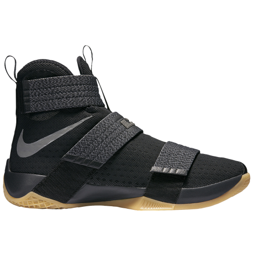 Nike LeBron Soldier 10 - Men's - Basketball - Shoes - James, LeBron -  Black/Metallic Dark Grey/Game Yellow