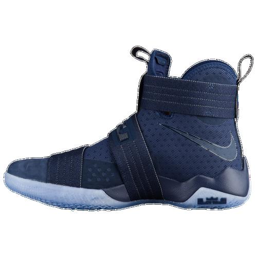 Nike LeBron Soldier 10 - Men's - Basketball - Shoes - James, LeBron -  Midnight Navy/Game Royal