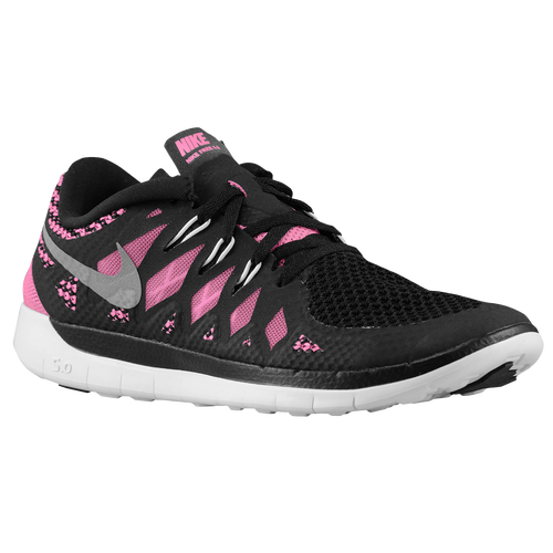 0261e5f0cf9f Nike Free 5.0 - Girls  Grade School - Running - Shoes - Black Pink ...
