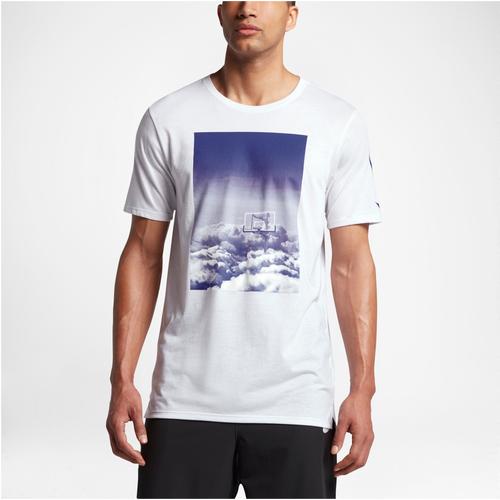 Nike Dri-FIT ST Art 1 T-Shirt - Men's Basketball - White/Deep Night 44504101