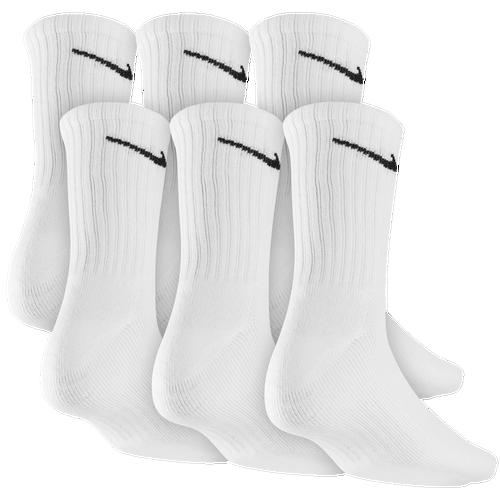 Nike 6 Pack Dri-FIT Crew Socks - Men s - Training - Accessories - White 1e7aa1eaac33