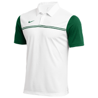 Nike Team Authentic Block Polo - Men's - White / Green