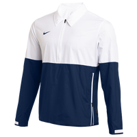 Nike Team Authentic Lightweight Coaches Jacket - Men's - White / Navy