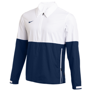 Nike Team Authentic Lightweight Coaches Jacket - Men's - White/College Navy
