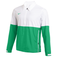 Nike Team Authentic Lightweight Coaches Jacket - Men's - White / Green