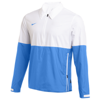 Nike Team Authentic Lightweight Coaches Jacket - Men's - White / Light Blue