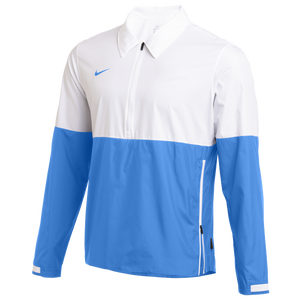 Nike Team Authentic Lightweight Coaches Jacket - Men's - White/Valor Blue