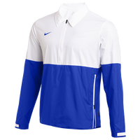 Nike Team Authentic Lightweight Coaches Jacket - Men's - White / Blue