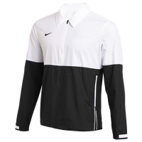 Nike Team Authentic Lightweight Coaches Jacket - Men's - White / Black