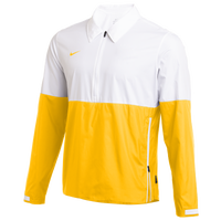 Nike Team Authentic Lightweight Coaches Jacket - Men's - White / Yellow