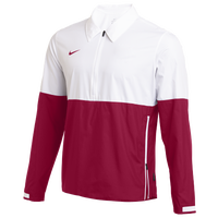 Nike Team Authentic Lightweight Coaches Jacket - Men's - White / Maroon