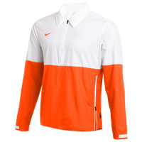 Nike Team Authentic Lightweight Coaches Jacket - Men's - White / Orange