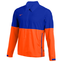 Nike Team Authentic Lightweight Coaches Jacket - Men's - Blue / Orange