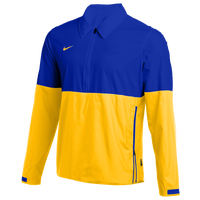 Nike Team Authentic Lightweight Coaches Jacket - Men's - Blue / Yellow