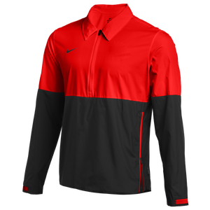 Nike Team Authentic Lightweight Coaches Jacket - Men's - University Red/Black