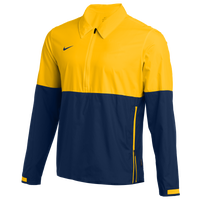 Nike Team Authentic Lightweight Coaches Jacket - Men's - Yellow / Navy