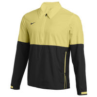 Nike Team Authentic Lightweight Coaches Jacket - Men's - Yellow / Black