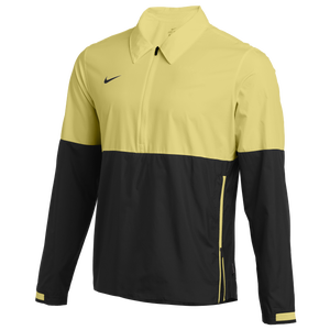 Nike Team Authentic Lightweight Coaches Jacket - Men's - Team Gold/Black