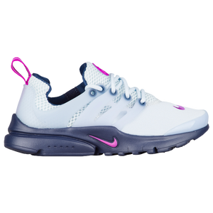 Nike Presto - Girls' Preschool - Nike - Casual - Black/Pure Platinum/Green  Glow