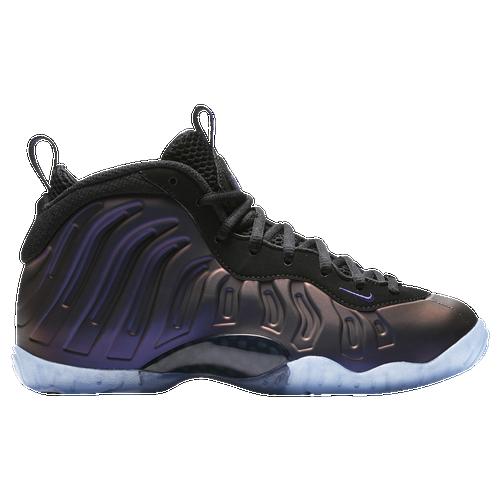 43a69f231125f ... Shoes Nike Little Posite One - Boys Grade School - Black Purple Magma  Baby Foamposites Jordan Basketball ...