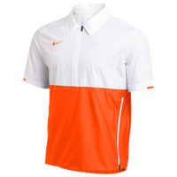 Nike Team Authentic Coaches S/S Jacket - Men's - White / Orange