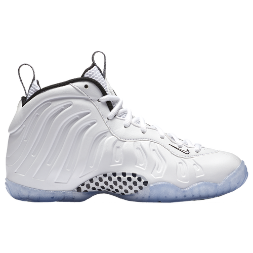 Nike Little Posite One - Boys\u0027 Grade School - White / Black