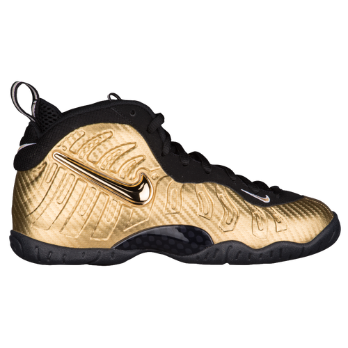 Nike Little Posite Pro - Boys\u0027 Grade School - Gold / Black