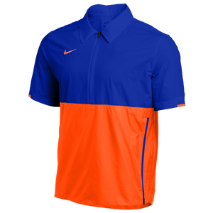 Nike Team Authentic Coaches S/S Jacket - Men's - Game Royal/Team Orange