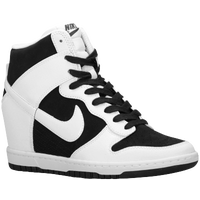 Nike Dunk Sky Hi - Women's - Basketball - Shoes - Black/White/White