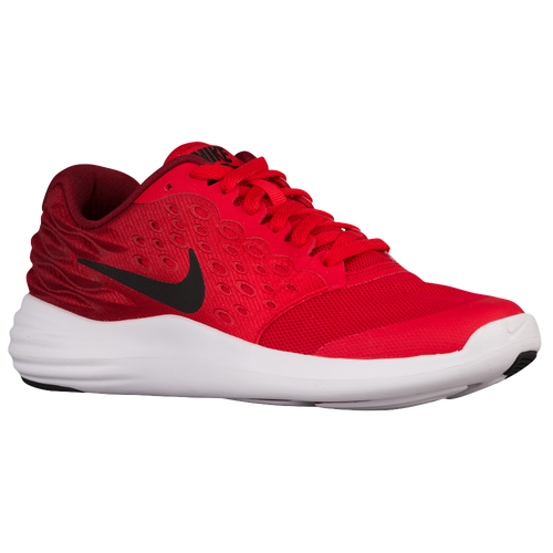 Nike LunarStelos - Boys  Grade School - Running - Shoes - University Red Black Team  Red White e52202da35