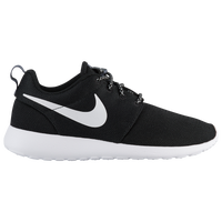 wmns nike roshe run black&white