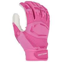 Cutters Rev Pro 3.0 Solid Receiver Gloves - Men's - Pink / White