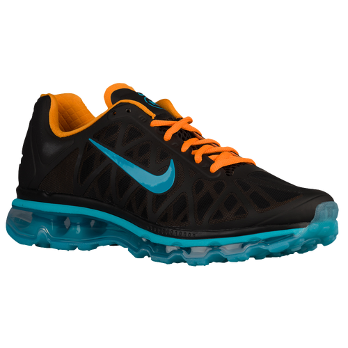 Nike Air Max 2011 - Men's - Basketball - Shoes - Black/Vivid Orange/Gamma  Blue/Dark Turquoise