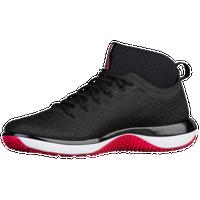 05954622448 Jordan Trainer 1 Mid - Men's - Black / Red