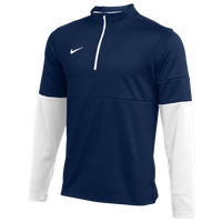 Nike Team Authentic Therma 1/2 Zip Top - Men's - Navy