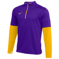 Nike Team Authentic Therma 1/2 Zip Top - Men's - Purple