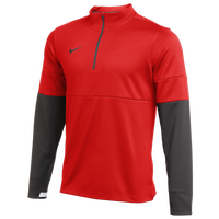 Nike Team Authentic Therma 1/2 Zip Top - Men's - Red