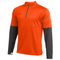 Nike Team Authentic Therma 1/2 Zip Top - Men's - Orange