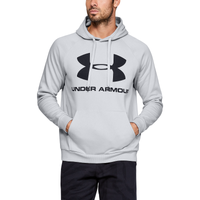 Under Armour Rival Sportstyle Pullover Hoodie - Men's - Grey