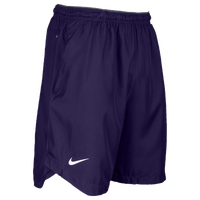 Nike Team Sideline Vapor Woven Shorts - Men's - Purple / Grey