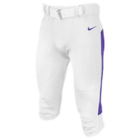 Nike Team Vapor Pro Pants - Men's - White / Purple